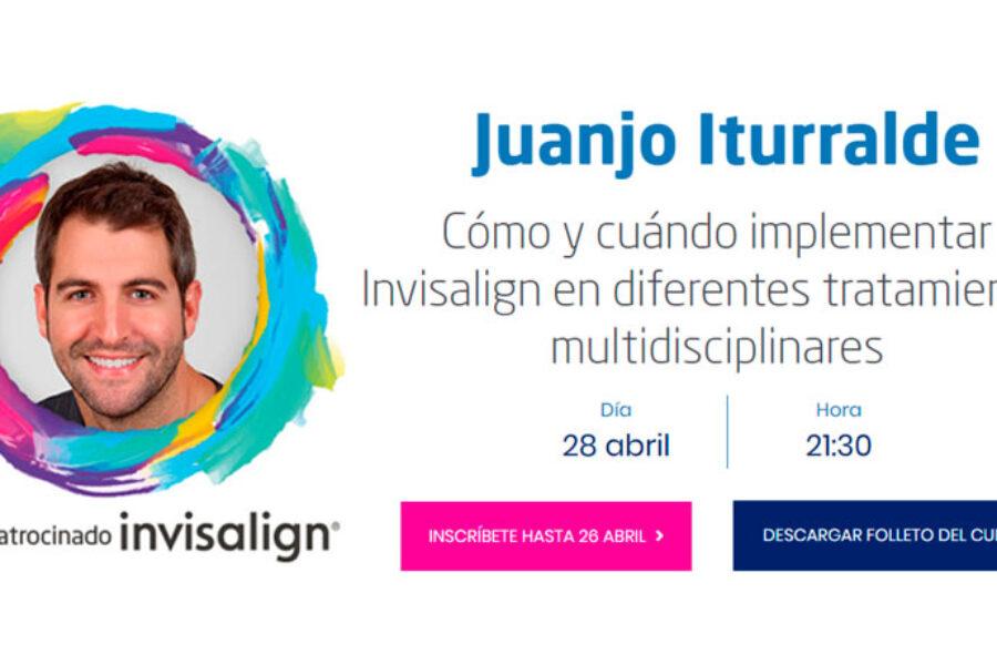 El Dr. Iturralde participa en las jornadas formativas Invisalign Go de SEPES
